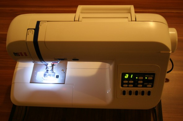 W6 N 3300 exklusive LED-Nählicht